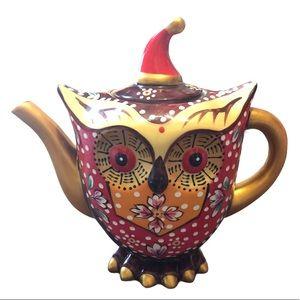 Super Cute Ceramic Owl Teapot
